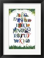 Safari Alphabet Fine-Art Print