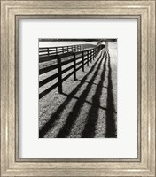 Fences And Shadows, Florida Fine-Art Print