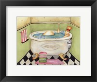Bathing Lady II Fine-Art Print