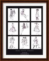 Fashion Through The Decades Fine-Art Print