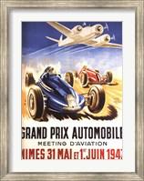 Grand Prix Automobile Nimes Fine-Art Print