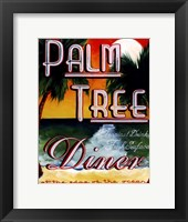 Palm Tree Diner Fine-Art Print
