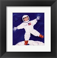 One Foot On The Moon Fine-Art Print