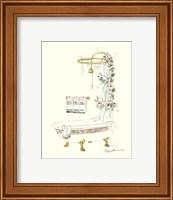 Tubs With Curtains-Bathtime Opulence Fine-Art Print