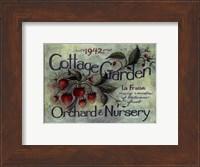 Cottage Garden I Fine-Art Print