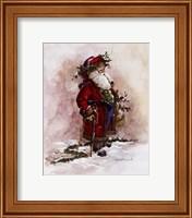 Olde World Santa Fine-Art Print