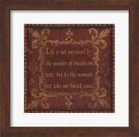 Life Is Not Measured Fine-Art Print
