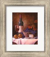 Wine & Grape I Fine-Art Print