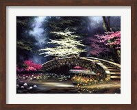 Dogwood and Waterlilies Fine-Art Print