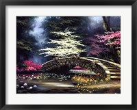 Dogwood and Waterlilies Fine-Art Print