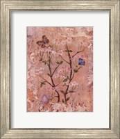 Butterflies And Blossoms II Fine-Art Print