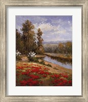 Poppy Vista I Fine-Art Print