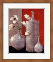 Silverleaf And Poppies II Fine-Art Print