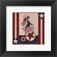 Star Spangled Girl Fine-Art Print