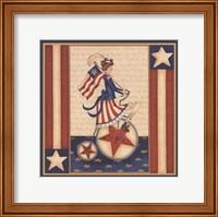 Star Spangled Girl Fine-Art Print