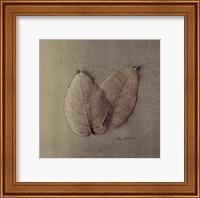 Pair Of Skelton Leaves Fine-Art Print