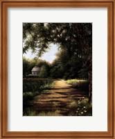 Pond House Fine-Art Print