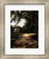 Pond House Fine-Art Print