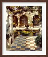 Courtyard Villa I Fine-Art Print