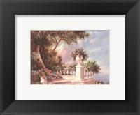 Balcony At Lake Como Fine-Art Print