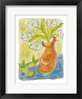 Daisies In Pink Vase Fine-Art Print