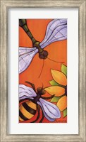 Dragonfly and Bumblebee Fine-Art Print