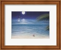 Moonlit Palms Fine-Art Print