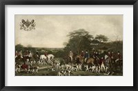 Sir Richard Sutton and The Quorn Hounds Giclee