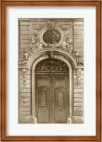 Ornamental Door I Giclee