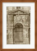 Ornamental Door II Giclee