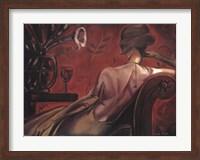 Bordeaux Lounge Fine-Art Print