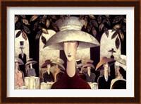 Lady in a Cafe Fine-Art Print