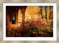 Twilight Courtyard Fine-Art Print