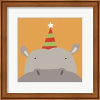 Peek-A-Boo Hippo Fine-Art Print
