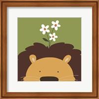 Peek-A-Boo Lion Fine-Art Print