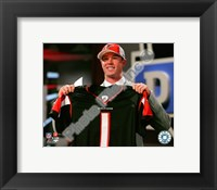 Matt Ryan Draft Day - 2008 NFL Draft # 3 Pick Fine-Art Print