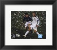 David Beckham 2008 Action, #107 Fine-Art Print