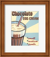 Chocolate Egg Cream Fine-Art Print