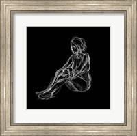 Figure Study on Black I Fine-Art Print