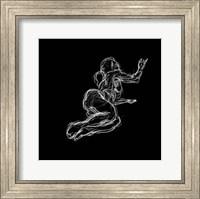 Figure Study on Black IV Fine-Art Print