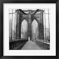 The Brooklyn Bridge, Sunday AM Fine-Art Print