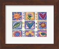Hearts and Flowers III Fine-Art Print