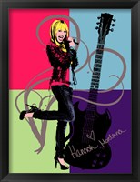 Hannah Montana: Let it Rock Fine-Art Print