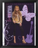 Hannah Montana: Golden Glamour Girl Fine-Art Print