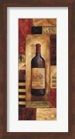 Chateau Vin Panel - mini Fine-Art Print