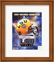 LSU BCS National Champs logo photo Fine-Art Print