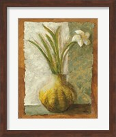 Narcissus in Green Vase Fine-Art Print