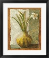 Narcissus in Green Vase Fine-Art Print