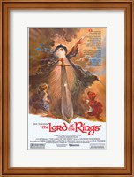 Lord of the Rings, animated - style A Fine-Art Print