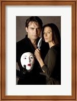 Nip/Tuck - couple with a mask Fine-Art Print